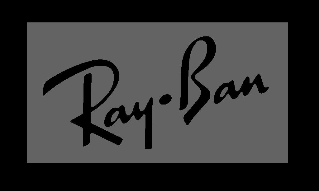 Nigel Holmes Designer Menswear - Ray Ban Logo